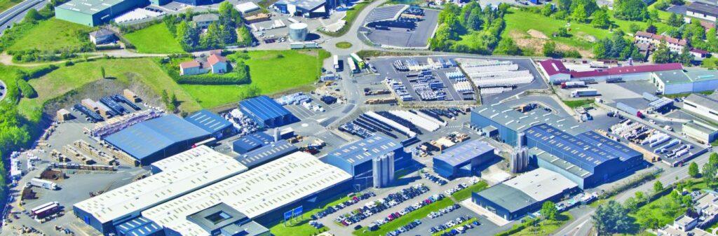 Site industriel Piscines Desjoyaux